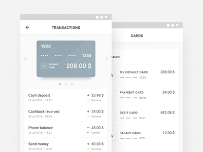 Mobile wallet (in progress) ui ux mobile app android material wallet finance