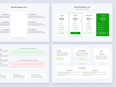 IP telephony service design components figma component library web-design web ux ui
