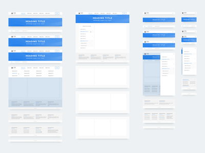 Responsive web components library (v1.0) free figma free responcive web deisgn design components ui kit design system