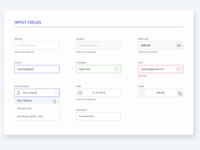UI components v1.0 (Input Fields) free