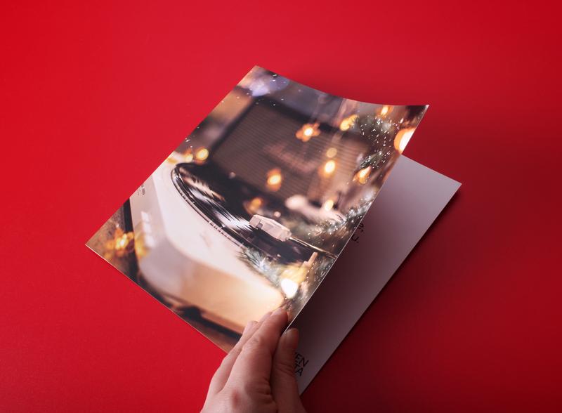 Custom Card Print illustration design branding
