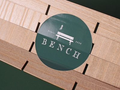 Bench Personal Stickers customstickers design stickers branding