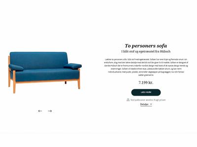 Furniture webshop webshop ecommerce design web ui