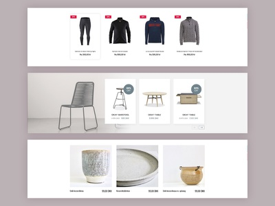 Products design webshop ui ecommerce product