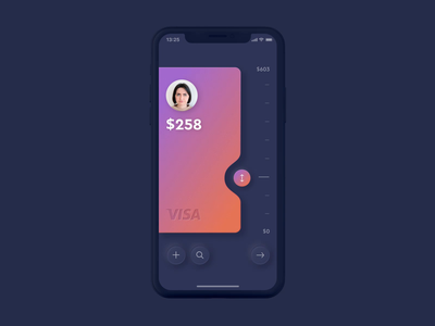 Neumorphic Wallet and Transaction muzli app ux ui skeuomorph minimalism neumorphism neumorphic neumorph motion app design animation wallet transaction pay payment ios mobile card bank