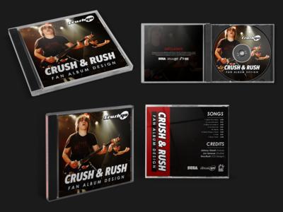 Crush 40 CD Fan Album Design