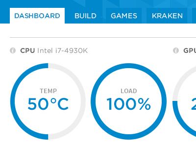 CAM Dashboard ui design application dashboard