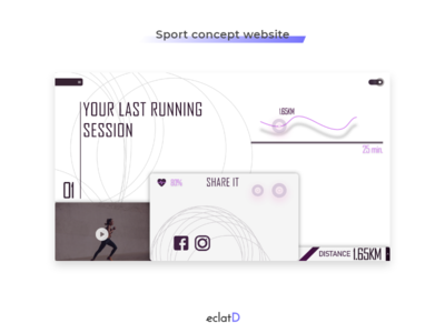 Sport UI concept