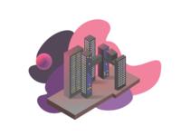 CitySky illustration