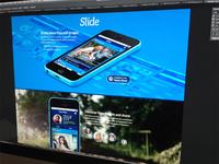 Mobile App site design