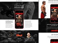 FightMetric App Site