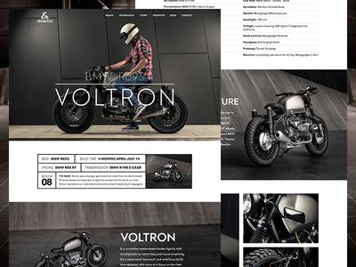 ER Motorcycles Build Details