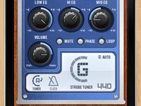 Taylor Guitars K4 EQ iphone app Tuner