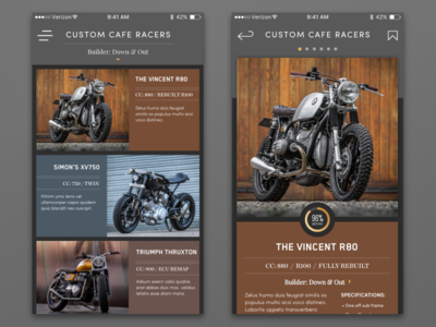 Motodiscovery App