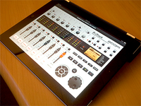 Zoom R-iTrack digital recorder iPad app