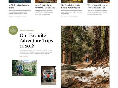 Outside Magazine Homepage podcast nature aileron leitura gt sectra display grid clean website publication travel editorial design explore adventure hiking blog magazine outdoor magazine outdoors web design homepage