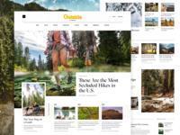Outside Magazine Homepage