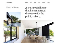 Platform house jason kirtley 2x