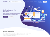 Circledoo - Online Course Landing Page