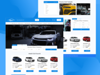 """Showcar"" Auction car Web Design"