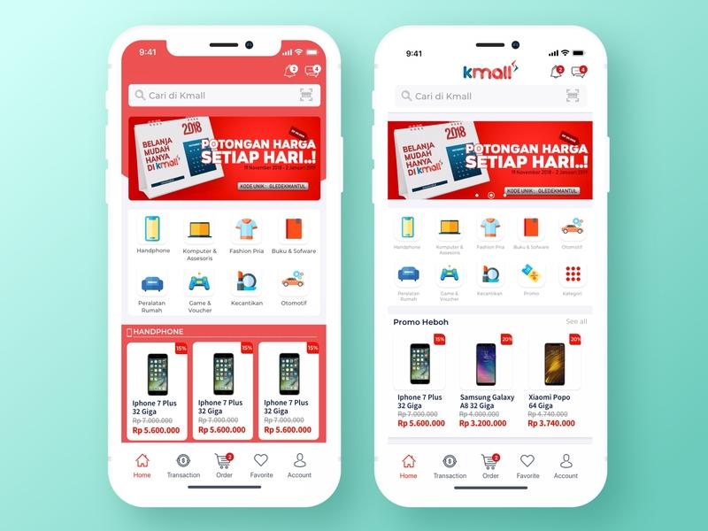 E-commerce Mobile App ecommerce ecommerce app homescreen dribbble app app design clean mobileappdesign mobileapp application appdesign app uxdesign uidesign ux ui design