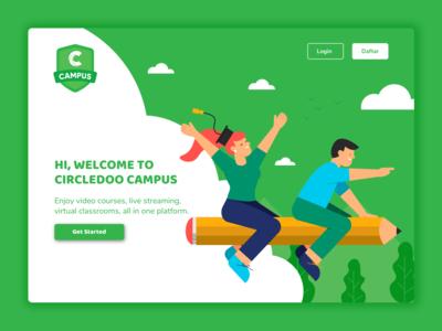 Edutech Landing Page