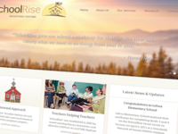 SchoolRise - Web Design