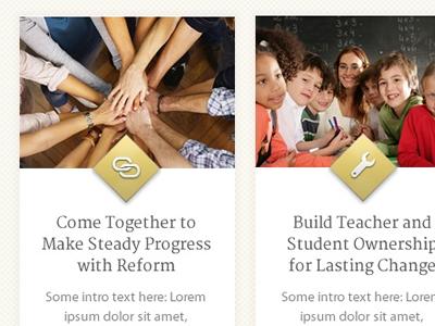 SchoolRise - Web Design  wordpress web design school academics education yellow texture sunrise school house teachers icons