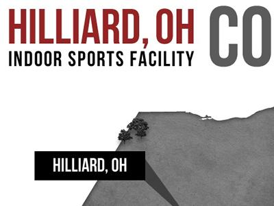 Hilliard, Ohio | Coming Soon Page wordpress bo jackson sports ohio map state marker black white red web design