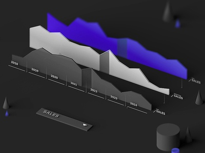Info graphics info graphic colors lowpoly isometric design b3d blender 3d