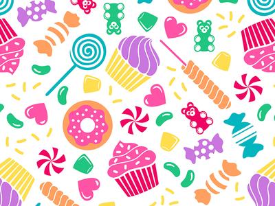 Rainbow Candy Toss