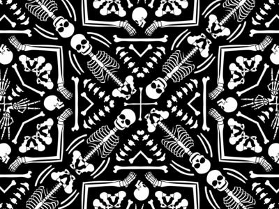 Kaleidoscope Skeletons
