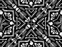 Kaleidoscope Skeletons
