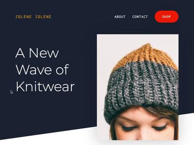 Responsive E-commerce Landing Page