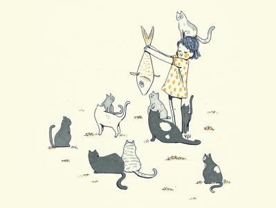 ✨ Cats cats cats ✨ sketchbook ink kidlitart kids illustration cats cat children illustration illustration