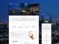 Residents landing page