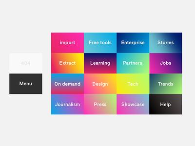 Our color scheme... guidelines brandkit gradients colours scheme color