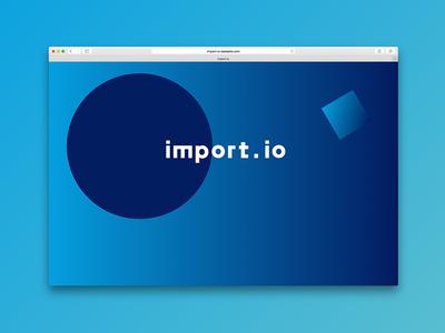 The colour and the shape - screensaver 2/3 colours javascript animation logo branding web screensaver gradient