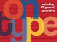 Typographical Postcard