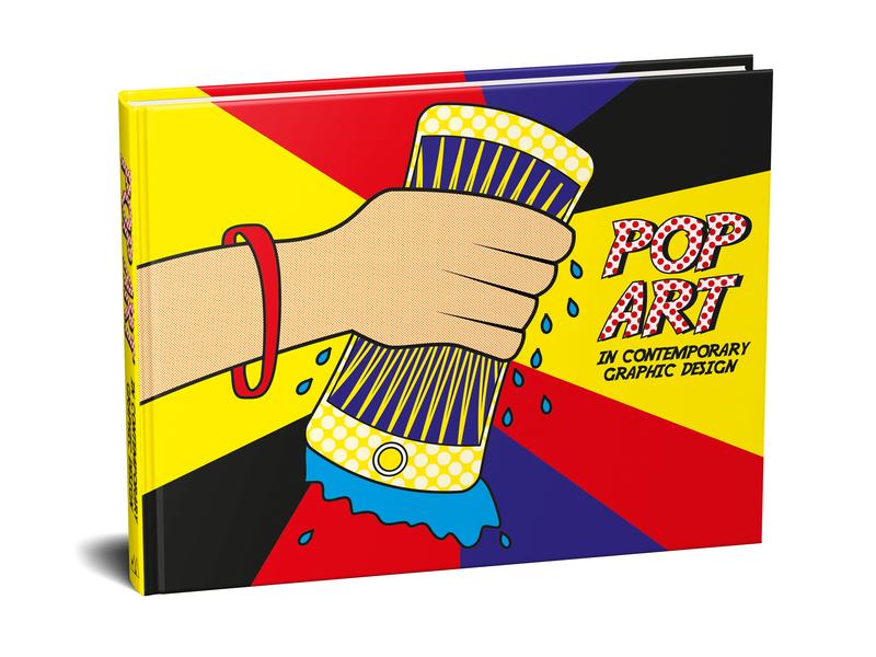 Pop Art book cover book art vector illustration pop art