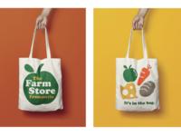 Organic good store logo