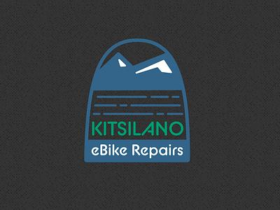 Kitsilano Bike Repair logo branding logo vector