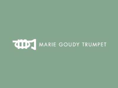 Marie Goudy Trumpet Logo