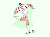 football player- part 2