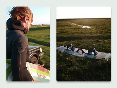 Custom Kitesurf Board Design illustraion custom design board kitesurf