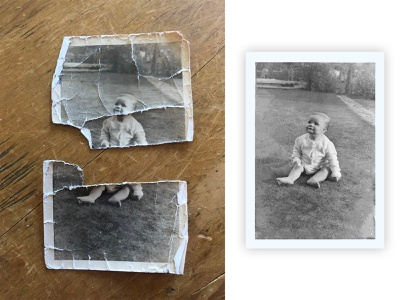 Photo Restoration photoshop restore photo