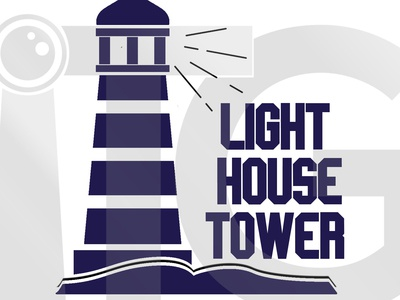Light house logo for a stationery supply company