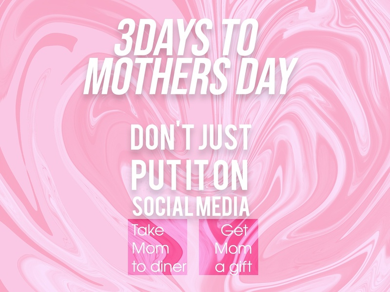 Mother's day reminder branding