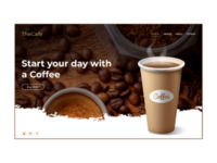 TheCafe - A Website Landing Page