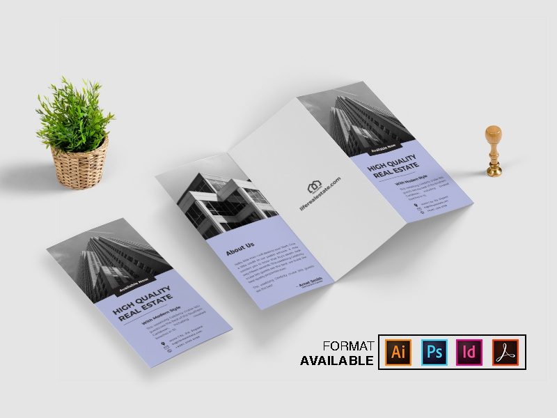Corporate Trifold Brochure Vol. 2 typography promotion template indd template psd template indd ai print template print property real estate business business flyer corporate brochure business brochure template design trifold template trifold brochure brochure design brochure trifold